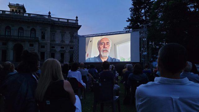 Giorgio Diritti regista di Volevo Nascondermi saluta il Lake Como Film Festival